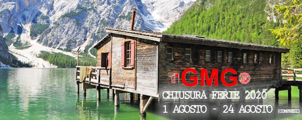 GMG SRL Contenitori termici chiusura ferie agosto 2020